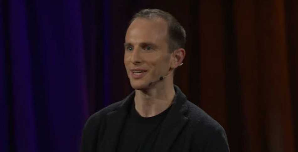 Joe Gebbia, the co-founder of Airbnb during his talk about Design For Trust