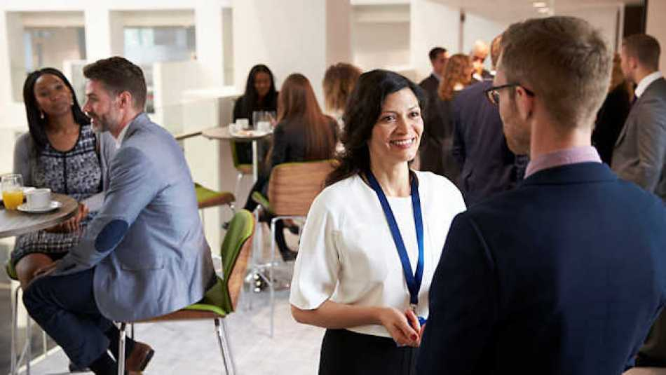 When you're networking, focus on the whole meeting and identify who you want to meet with!